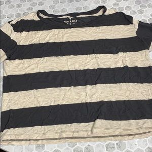 American Eagle Soft and a Sexy Striped Small T